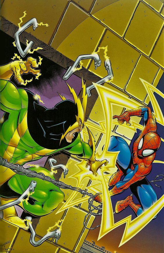 Electro Spider Man Wallpaper Spiderman vs Electro |...