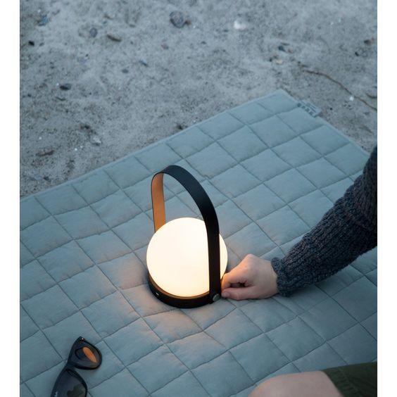 Menu - Carrie Portable LED Lamp | HORNE