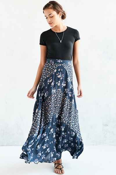 Urban outfitters floral maxi skirt – Modern skirts blog for you