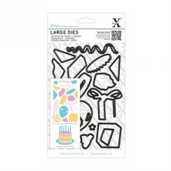 X-cut Large Dies (19pcs) - Birthday