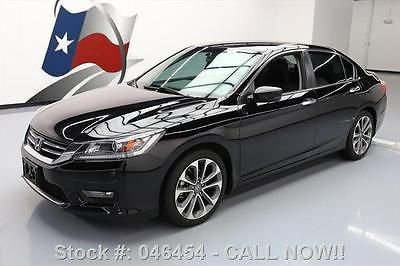 awesome 2014 Honda Accord SPORT SEDAN REAR CAM ALLOY WHEELS - For Sale View more at http://shipperscentral.com/wp/product/2014-honda-accord-sport-sedan-rear-cam-alloy-wheels-for-sale/