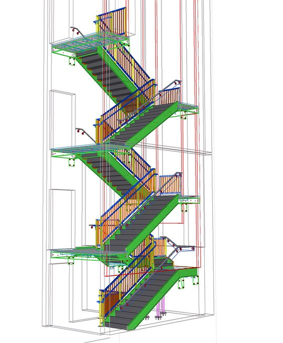 Staircase, Stairs, Stairwell, Architecture, Blueprints