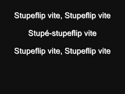Stupeflip - Stupeflip vite !!! (Lyrics / Paroles)