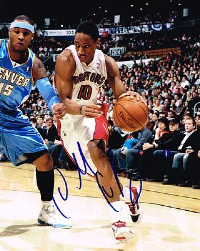 DeMar DeRozan Signed 8x10 Photograph #SportsMemorabilia #TorontoRaptors