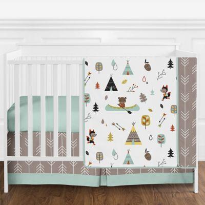 Sweet Jojo Designs Outdoor Adventure 4, Woodsy Crib Bedding