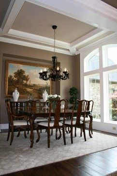 Nice Faux Tray Ceiling Same Ceiling Height Just Exposed
