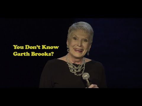 Comedian Jeanne Robertson - You Don'T Know Garth Brooks? : Video Clips From The Coolest One