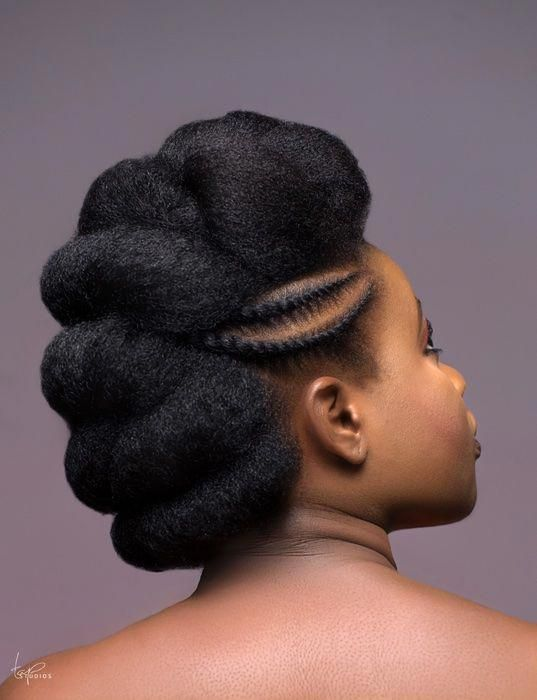 "KL's Naturals Gives A Directional Twist To Classic Hairstyles In This ""Ele Toh Natural"" Campaign 