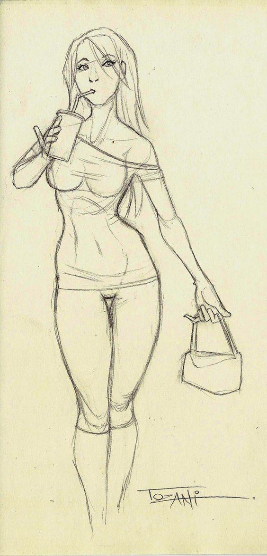 Una chica guapa de un centro comercial. Some pretty girl from some comercial center.