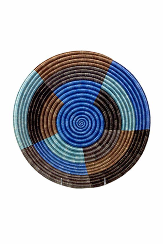 Palace Blue Sunrise Basket