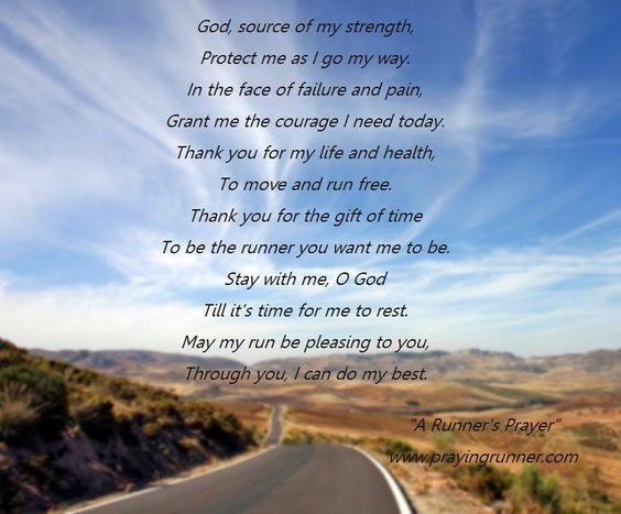 Praying Runner: A Runner's Prayer
