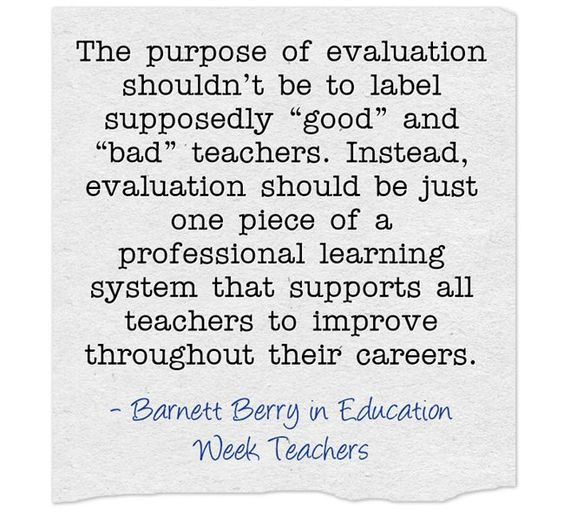 """'Getting What You Pay For' In Teacher Evaluations"" 