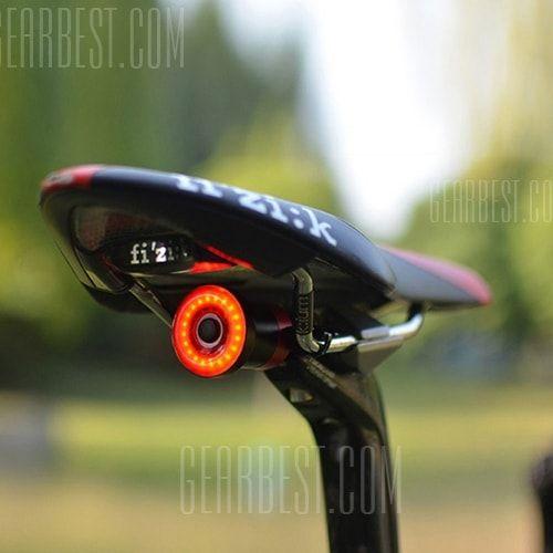 Bicycle Smart Sensor Brake Light COB Smart Turn Signal USB Charging Tail Light