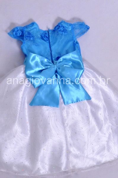Vestido Infantil da Frozen Elsa