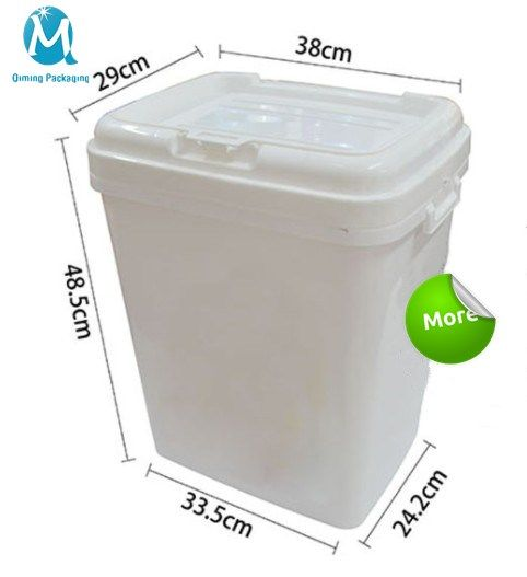 Wholesale Square Plastic Pails Buckets Qiming Packaging Lids Caps Bungs Cans Pails Buckets Baskets Trays Pail Bucket Plastic Pail Pail