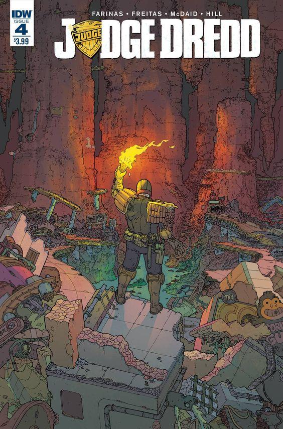 Judge Dredd (2015) Issue #4