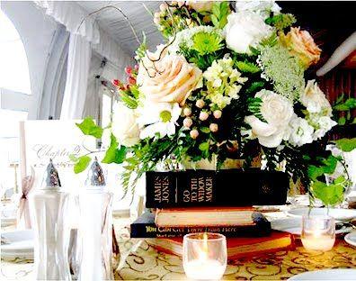 antique wedding centerpiece photos - Google Search