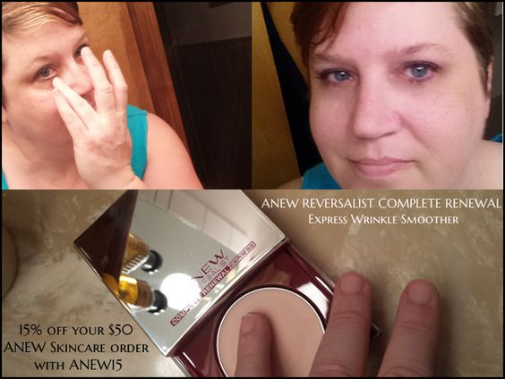 Get 15% off $50 ANEW Skincare order w/code ANEW15 at http://avon.com   | I received these products complimentary from Influenster for testing purposes. All opinions are our own. | #TLCVoxBox  #Influenster #AvonANEW
