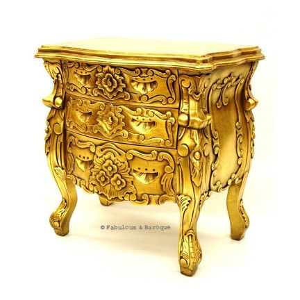 Fabulous & Rococo Side Table - Gold Leaf