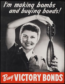 Buy Victory Bonds http://www.globaltv.com/bombgirls/index.html