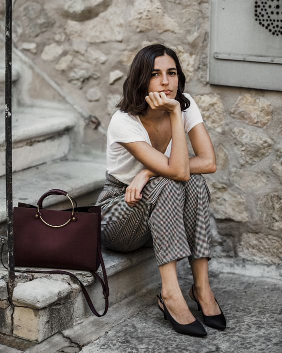 The best high waisted trousers to wear this fall | By Aria Di Bari, French style blogger