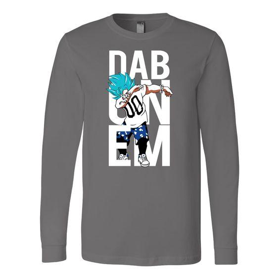 Super Saiyan Goku God Dab Long Sleeve T shirt - TL00497LS