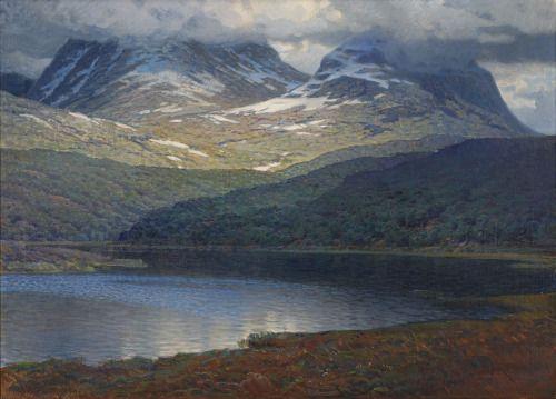 Nils Asplund: Fjällandskap (1911)