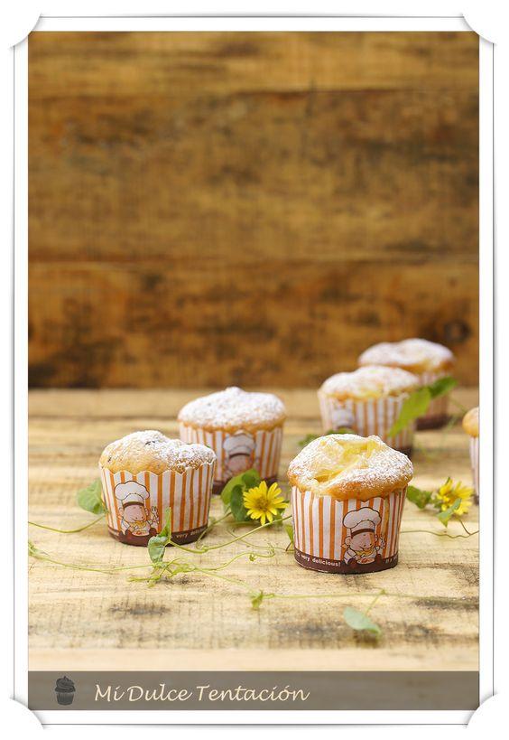 Mi dulce tentación: Muffins de Piña