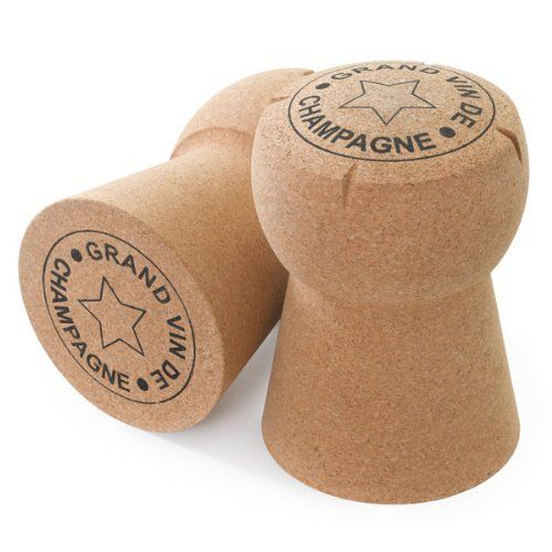 XL Giant Champagne Cork Stool - Grand Vin De Champagne - With Grooves