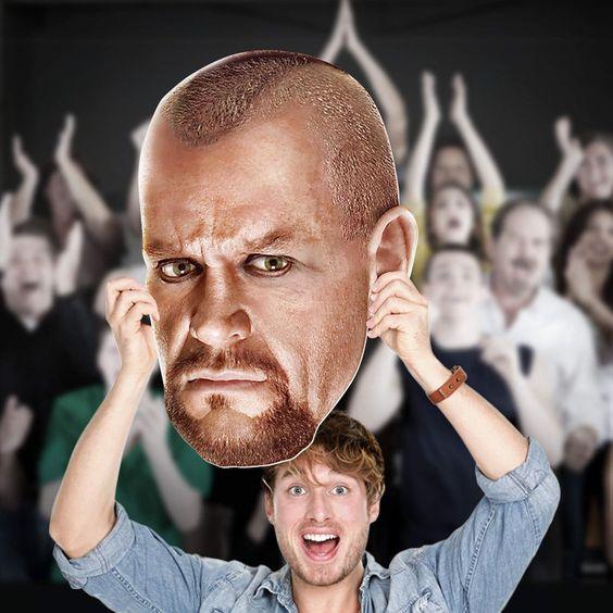 Fathead WWE Undertaker Big Head Wall Decal - 1091-00635