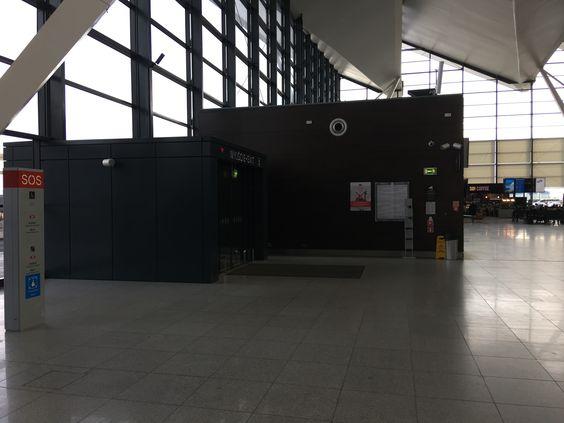 Свободный вход в аэропорт