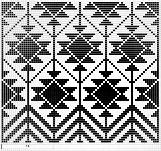 Navajo Pattern ❥ 4U // hf: