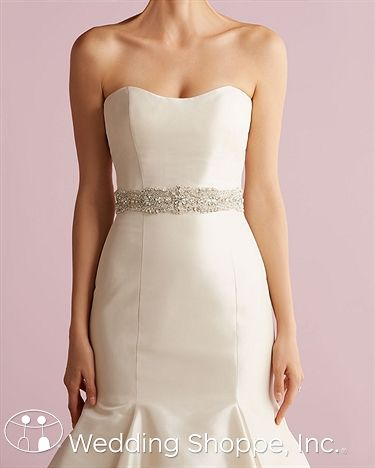 Bridal Belts and Sashes Allure  S78 Bridal Belts and Sashes Image 1