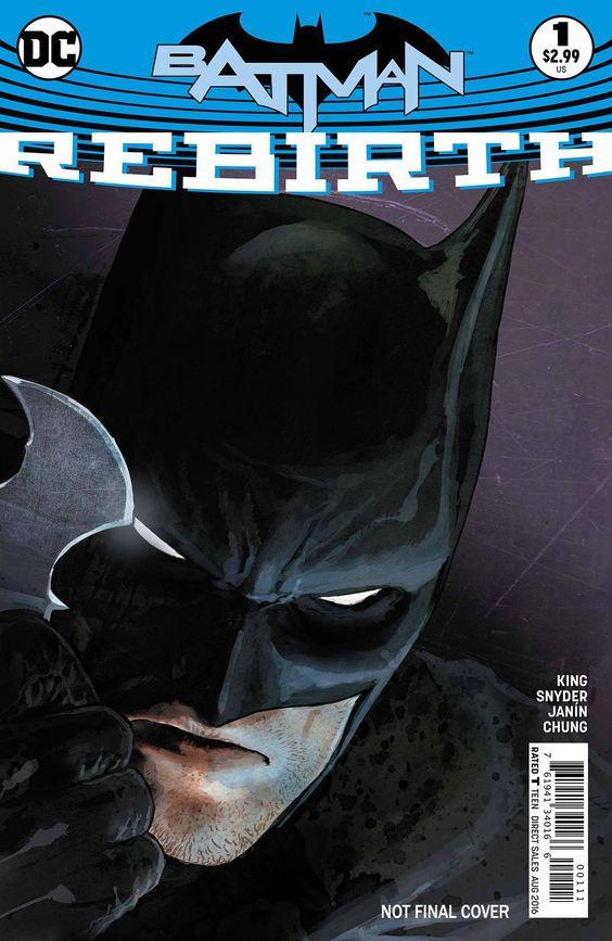Batman Rebirth #1 2nd Ptg (2016)