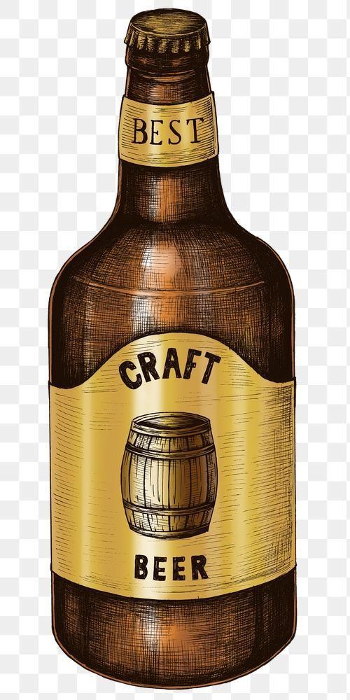 Colorful Craft Beer Bottle Png Premium Image By Rawpixel Com Noon Craft Beer Beer Bottle Best Craft Beers