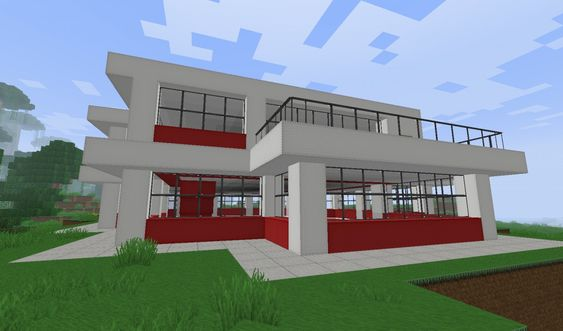 Minecraft Projects Modern Houses And Simple Minecraft