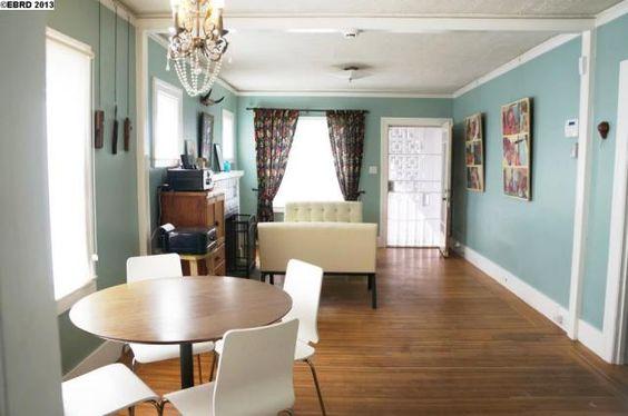Blue walls white trim realistic dreaming home for Blue walls white trim