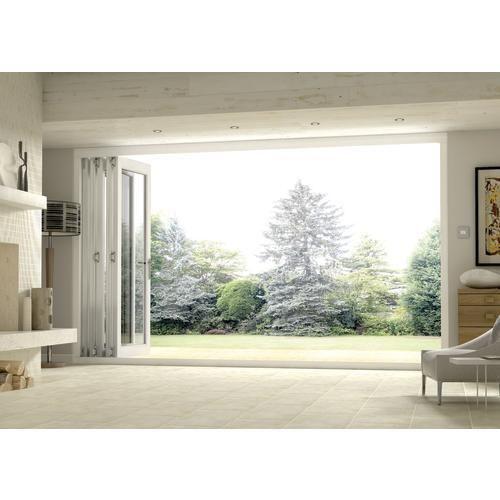 wickes burman slimline finished bi fold door white 12ft wide