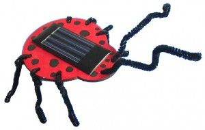 It's never too early for kids to learn how solar power can be converted into motion. The Solar Bug Kit from Brown Dog Gadgets lets kids create and paint their own bug before setting it in the sun to harness solar power.