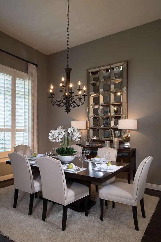 تصاميم وديكورات غرف طعام – Dining Room Décor