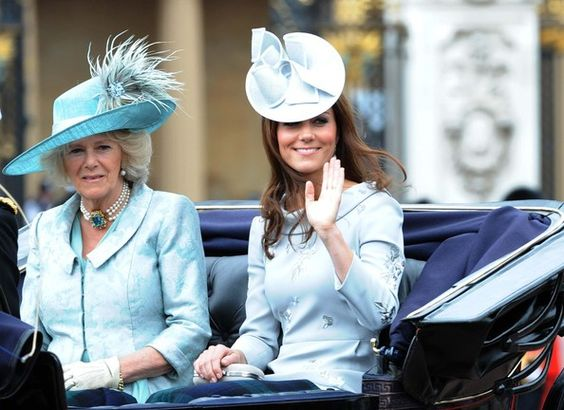 ROYALS At Buckingham Palace After Trouping The Colour Ceremony – Royal Family Baby Announcement
