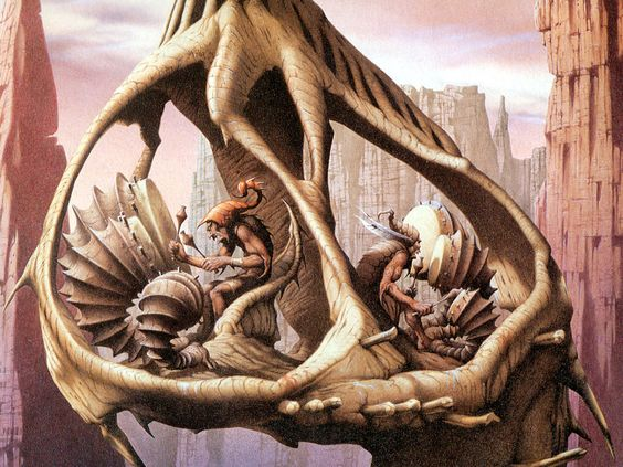 METAL ON METAL: Rodney Matthews: epic fantasy artwork