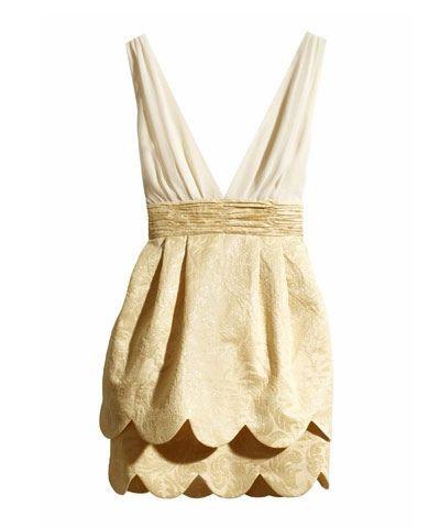 golden goddess dress