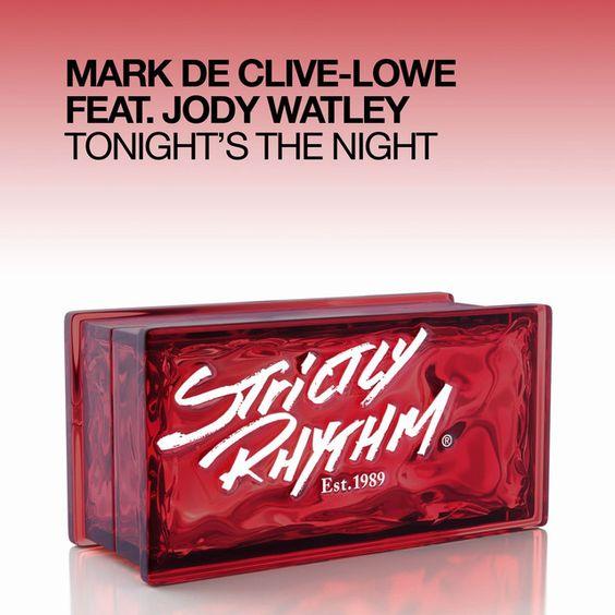 Mark De Clive-Lowe, Jody Watley – Tonight's the Night (single cover art)