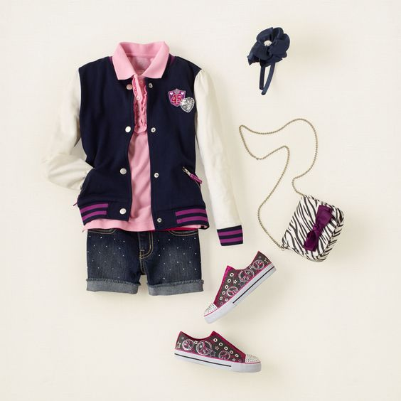 SUPER CUTE!  girl outfit from THE CHILDRENS PLACE.  Total before tax/shipping is $86.46