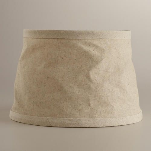 collapsible canvas accent lamp shade canvases lamps and. Black Bedroom Furniture Sets. Home Design Ideas