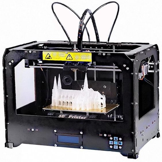 1486.99$  Buy here - http://alisvc.worldwells.pw/go.php?t=32468571061 - 2016New [Hisaint] CTC FDM Colour plastic 3D printer based on open source printer with 2 extruders 1486.99$