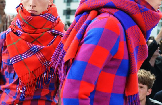 PERFECT MIX BETWEEN TARTAN 1 MASSAI  L via JAK & JIL