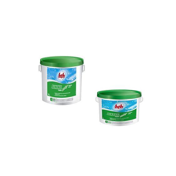 HTH Alkanal remonte l'alcalinité de l'eau (T.A.C) de l'eau pour éviter les fortes variations de pH. Poudre à dissolution rapide, sans résidu. Compatible avec tout équipement de filtration. http://www.c-piscine.com/ph-moins-ph-plus/335-hth-ph-moins-liquide-35-20l