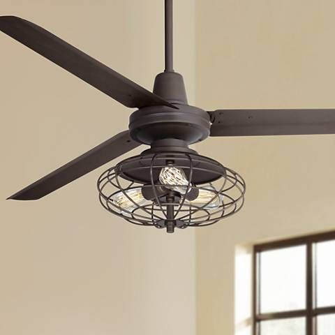 60 Casa Vieja Turbina Nostalgic Bronze Ceiling Fan 57p40 Lamps Plus Bronze Ceiling Fan Ceiling Fan Fan Light